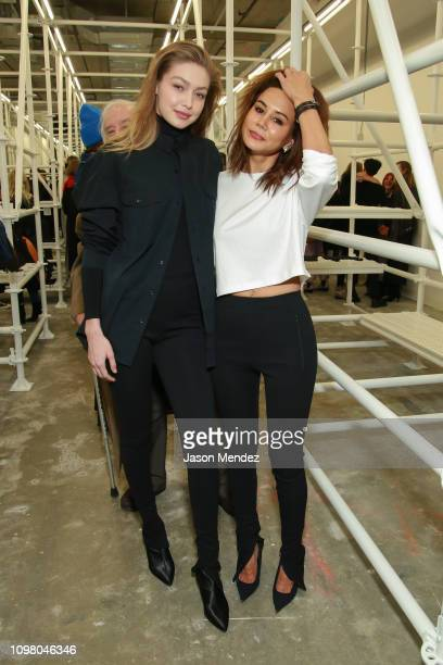 Gigi Hadid Christine Centenera on February 11 2019 in New York City