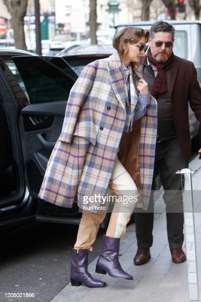 Gigi Hadid in Paris France on March 3 2020