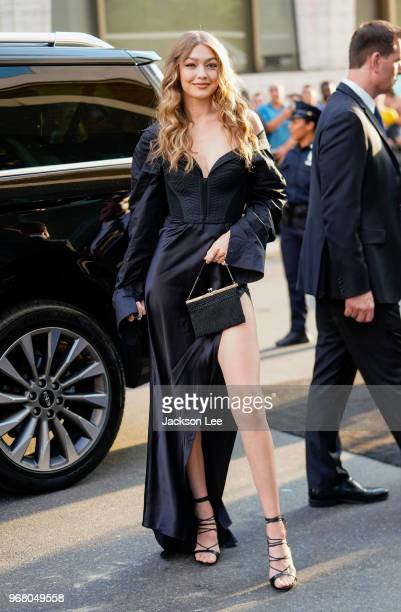 Gigi Hadid is seen at 'Oceans 8' Premiere on June 5 2018 in New York City
