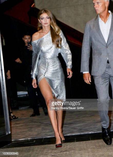 Gigi Hadid is seen attending The Daily Front Row 6th Annual Fashion Media Awards at Park Hyatt New York on September 06 2018 in New York City