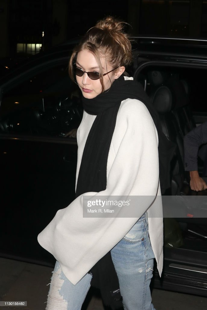 GBR: London Celebrity Sightings -  February 16, 2019