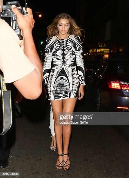 Gigi Hadid is seen on September 16 2015 in New York City