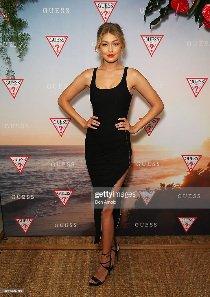 Gigi Hadid Launches The Guess Spring 2015 Collection In Sydney : News Photo