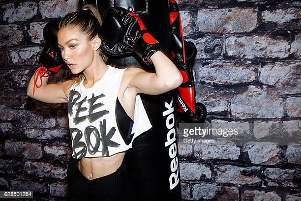 Gigi Hadid leads a Self Defense Workout at Reebok And Gigi Hadid Present #PerfectNever Revolution celebrating the next stage of the brand's...