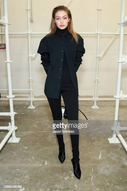 Gigi Hadid on February 11 2019 in New York City
