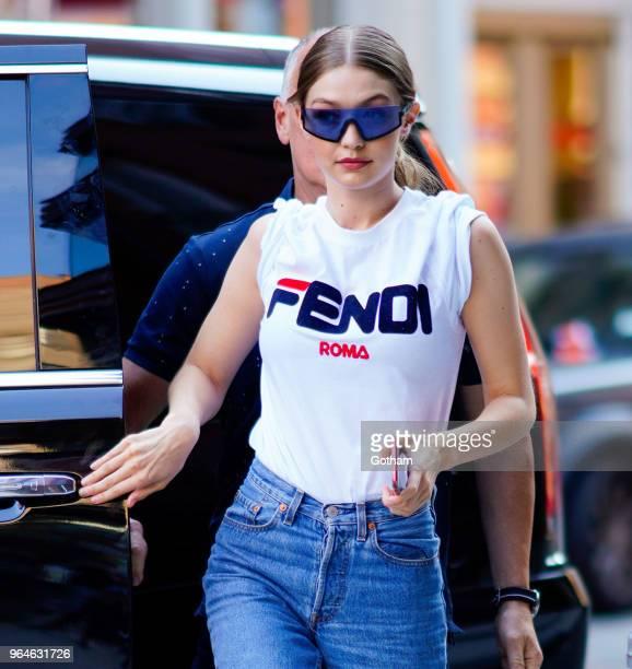 Gigi Hadid on May 30 2018 in New York City