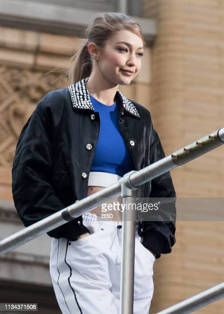 Gigi Hadid seen on March 07 2019 in New York City