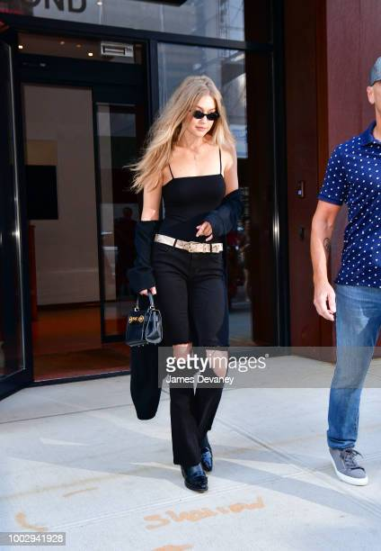 Gigi Hadid seen on the streets of Manhattan on July 20 2018 in New York City