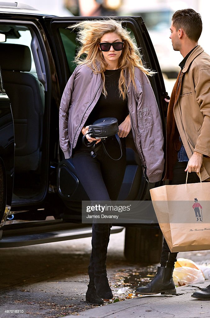 Celebrity Sightings In New York City - November 13, 2015 : News Photo