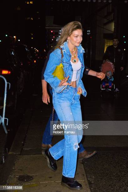 Gigi Hadid seen out and about in Manhattan on April 22 2019 in New York City