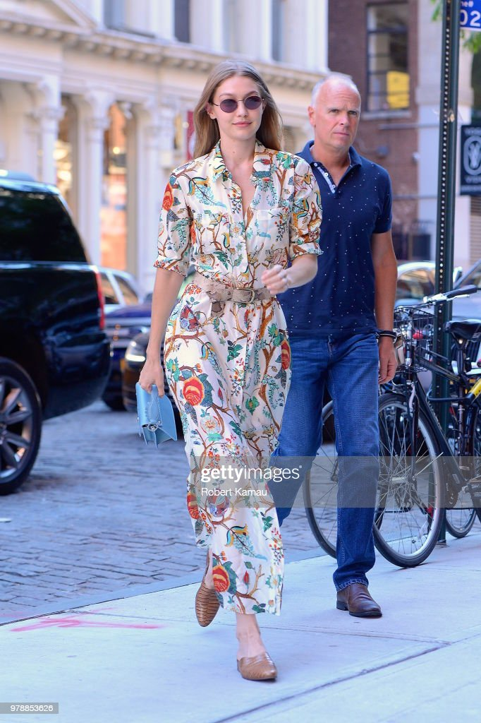 Celebrity Sightings in New York City - June 19, 2018