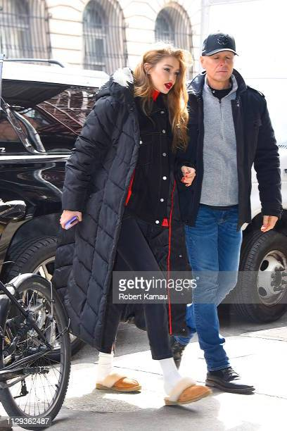 Gigi Hadid seen out and about in Manhattan on March 8 2019 in New York City
