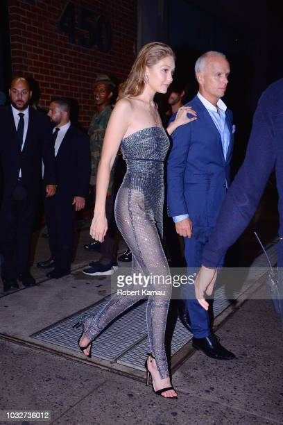 Gigi Hadid seen out and about in Manhattan on September 12 2018 in New York City