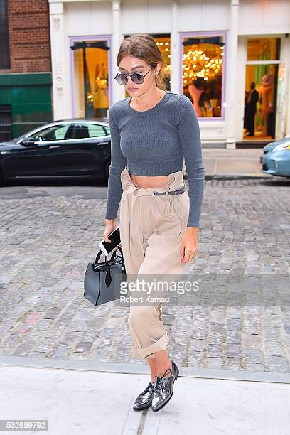 Gigi Hadid seen out in SoHo on May 18 2016 in New York City