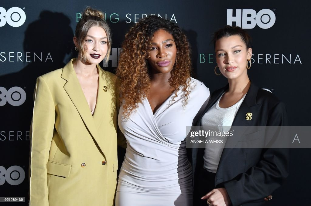 ENTERTAINMENT-US-PREMIERE-BEING_SERENA : News Photo