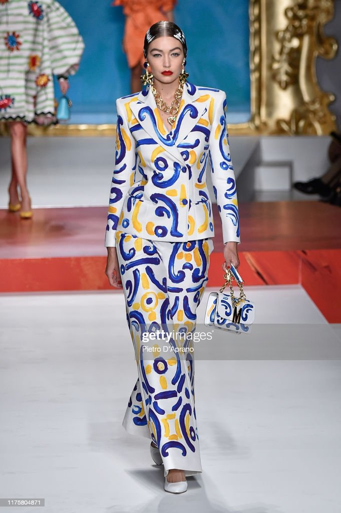Moschino - Runway - Milan Fashion Week Spring/Summer 2020 : Foto jornalística
