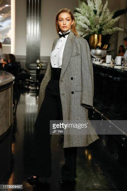 Gigi Hadid walks the runway at the Ralph Lauren Fall 2019 Collection at William and Wall on September 07 2019 in New York City