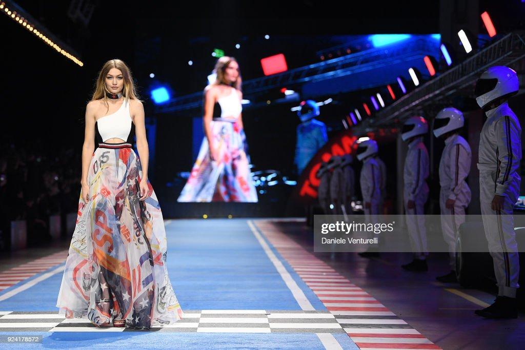 Tommy Hilfiger - Runway - Milan Fashion Week Fall/Winter 2018/19 : ニュース写真