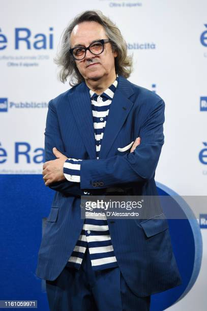Gigi Marzullo attends the Rai Show Schedule presentation on July 09 2019 in Milan Italy