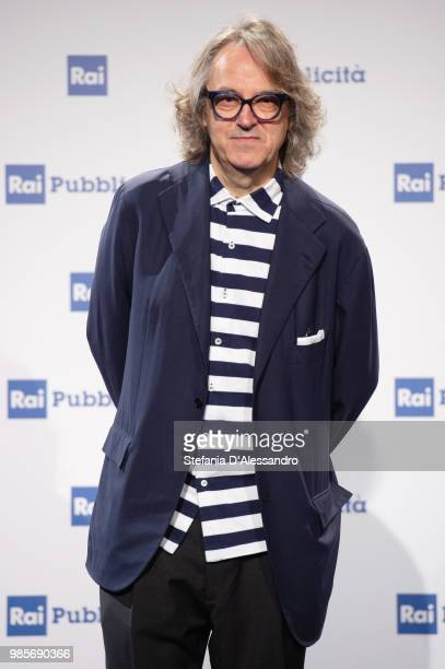 Gigi Marzullo attends the Rai Show Schedule presentation on June 27 2018 in Milan Italy