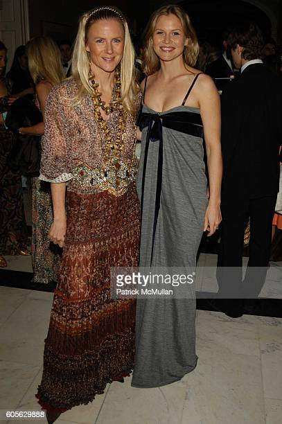Gigi Mortimer and Shirin von Wulffen attend Museum of the City of New York Director's Council 20th Annual Winter Ball arrivals and cocktails at...