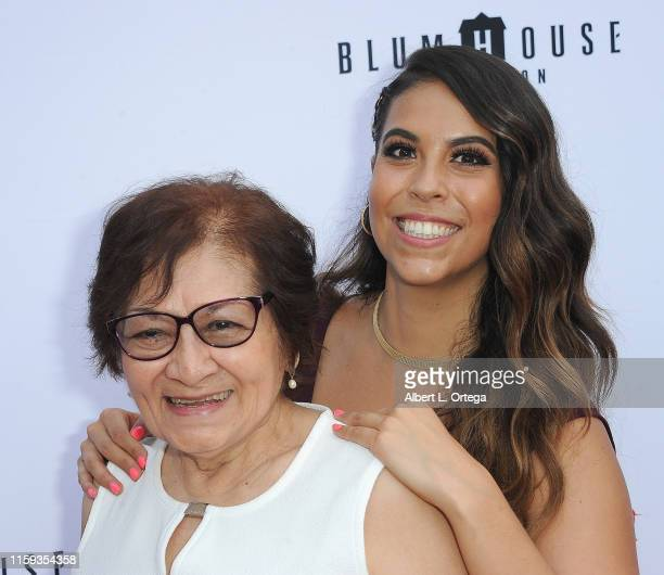 Gigi Saul Guerrero and Elivira Onofre attend the 6th Annual Etheria Film Showcase held at American Cinematheque's Egyptian Theatre on June 29 2019 in...