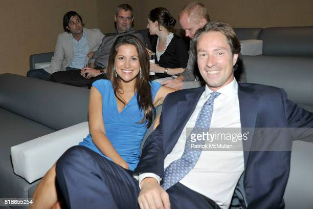 Gigi Stone and Tom Trobridge attend Screening and Dinner of MARSHALL CURRY's Documentary RACING DREAMS at Core Club on June 28th 2010 in New York City