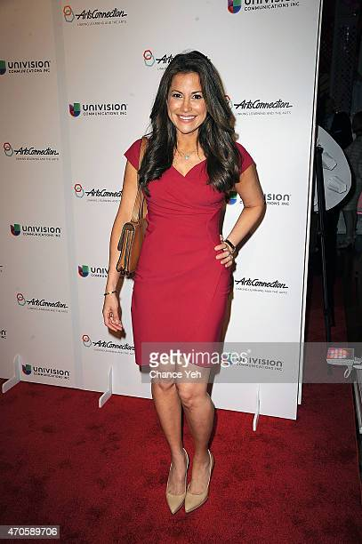 Gigi Stone Woods attends 2015 ArtsConnection Benefit Celebration at 583 Park Avenue on April 21 2015 in New York City