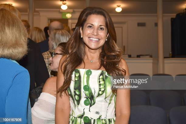 Gigi Stone Woods attends the East Hampton Summer Screening Of The Wife at Guild Hall on July 22 2018 in East Hampton New York