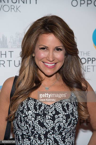 Gigi Stone Woods attends theNetwork's 2016 Night Of Opportunity Gala at Cipriani Wall Street on April 11 2016 in New York City