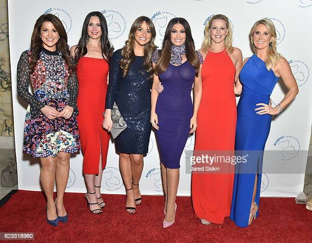 Gigi Stone Woods Danielle Yancey Kyle Nolan Kimberly Guilfoyle Cheryl Casone and Heather Childers attend The New York Society for the Prevention of...