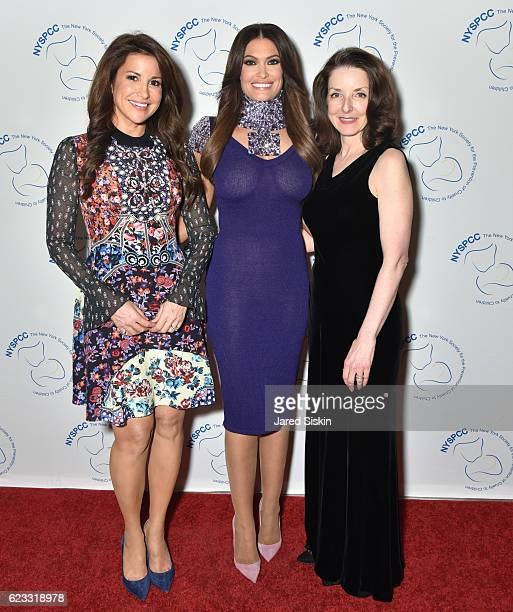 Gigi Stone Woods Kimberly Guilfoyle and Dr Mary L Pulido attend The New York Society for the Prevention of Cruelty to Children Food Wine Gala on...