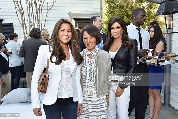 Gigi StoneWoods Alina Cho and Kimberly Guillfoyle attend the Hamptons Magazine Celebration of Its Memorial Day KickOff Event With Cover Star Tracy...