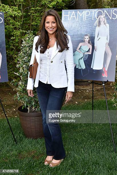 Gigi StoneWoods attends the Hamptons Magazine Celebration of Its Memorial Day KickOff Event With Cover Star Tracy Anderson on May 23 2015 in...