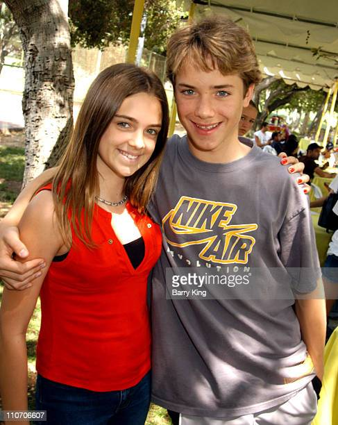 Gigi Sumpter and Jeremy Sumpter during Accenture 4th Annual Walk For Kids to Benefit the Los Angeles Ronald McDonald House at Griffith Park in Los...