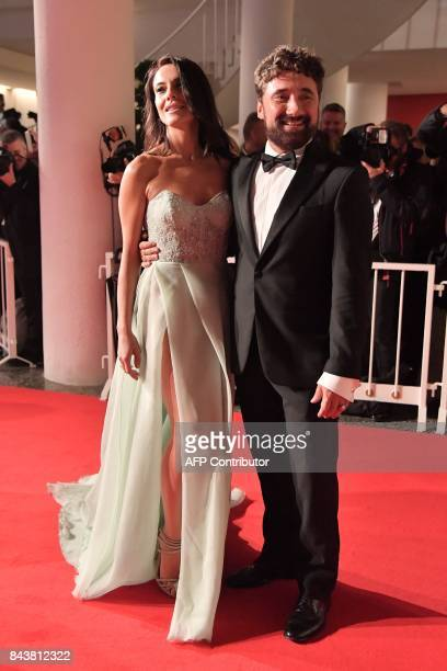 Giglia Marra and Federico Zampaglione attend the premiere of the movie Mektoub My Love Canto Uno presented in competition at the 74th Venice Film...