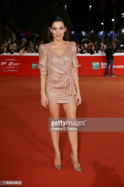 Giglia Marra attends the red carpet of the movie Tornare during the 14th Rome Film Festival on October 26 2019 in Rome Italy