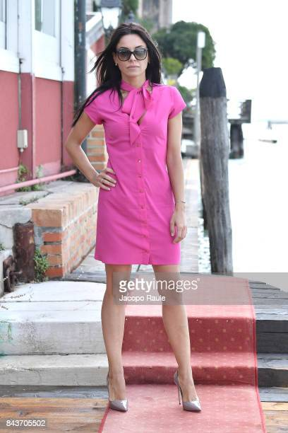 Giglia Marra is seen during the 74th Venice Film Festival on September 7 2017 in Venice Italy