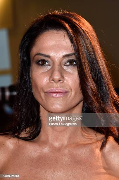Giglia Marra walks the red carpet ahead of the 'Mektoub My Love Canto Uno' screening during the 74th Venice Film Festival at Sala Grande on September...