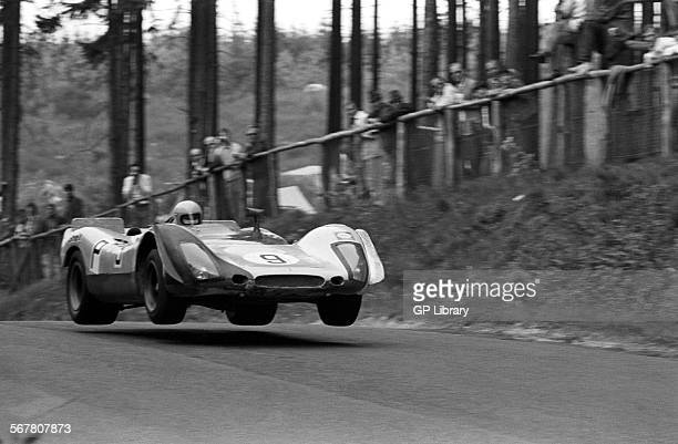 Gijs Van LennepHans Lainey's Porsche 908 at Brunnchen during practice for the Nurburgring 1000Kms Germany 31 May 1970