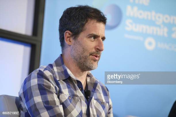 Gil Baron chief executive officer of Mindshow speaks during the Montgomery Summit in Santa Monica California US on Thursday March 9 2017 The summit...