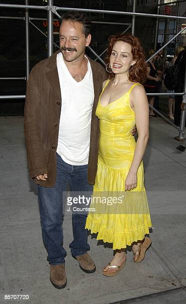 Gil Bellows and Carla Gugino