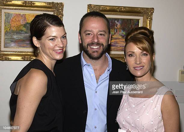 Gil Bellows wife Rya and Jane Seymour during Jane Seymour and James Keach Host City Hearts Eighth Annual Truffle Dinner at Private Residence in...