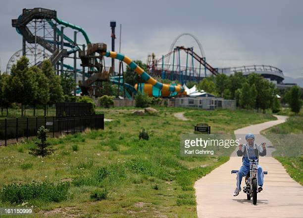 Elitch Gardens Colorado Stock Photos and Pictures   Getty Images