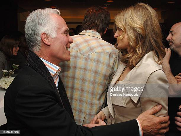 Gil Garceti and Kyra Sedgwick 11063_543JPG during 2006/2007 TBS and TNT Upfront After Party at Madison Square Garden in New York City New York United...