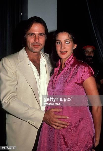 Gil Gerard and Connie Sellecca circa 1981 in New York City