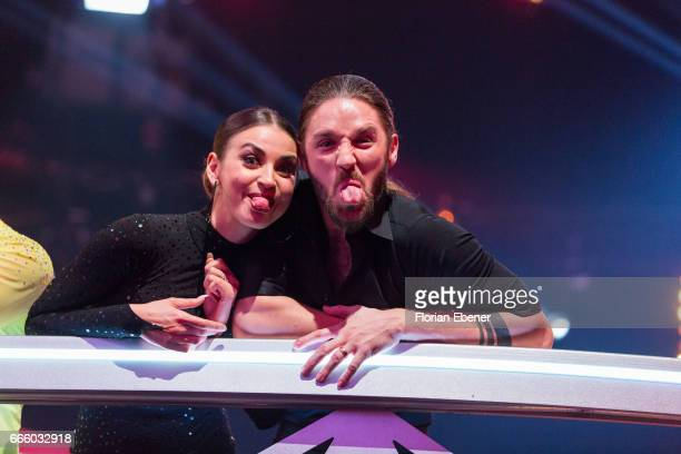 Gil Ofarim and Ekaterina Leonova during the 4th show of the tenth season of the television competition 'Let's Dance' on April 7 2017 in Cologne...