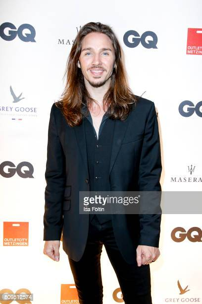 Gil Ofarim attends the GQ Mension Style Party 2017 at Austernbank on July 5 2017 in Berlin Germany