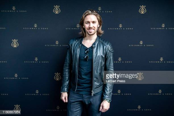 Gil Ofarim attends the Steinway Sons store opening on May 17 2019 in Munich Germany