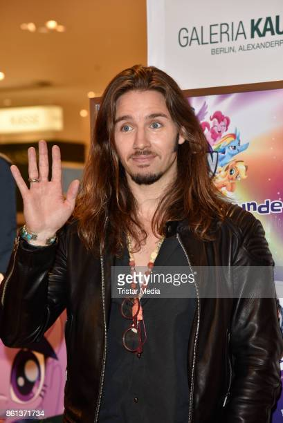 Gil Ofarim during the 'My little Pony' Stars Autograph Session on October 14, 2017 in Berlin, Germany.